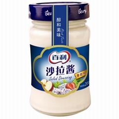 百利沙拉酱香甜味水果蔬菜瓶装寿司汉堡面包三明治沙律色拉200ml