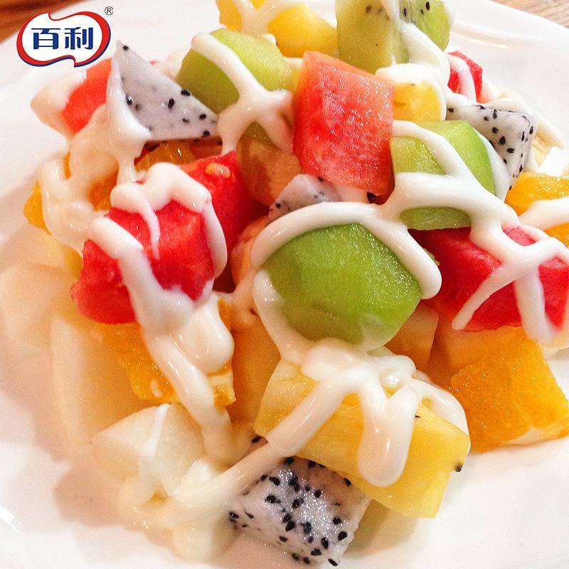 百利沙拉醬香甜味水果蔬菜瓶裝壽司漢堡麵包三明治沙律色拉200ml 5