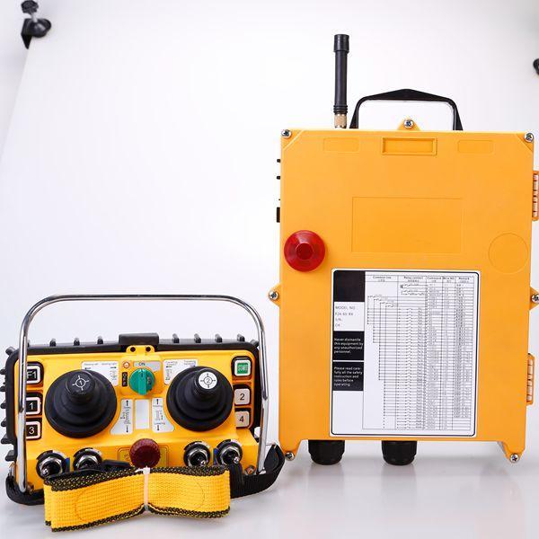 hydraulic solenoid va  e 12V wireless crane remote control for tower crane