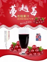 威瑟亚美蔓越莓浓缩果汁 蔓越莓原浆