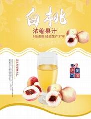 威瑟亚美白桃浓缩果汁 白桃原浆