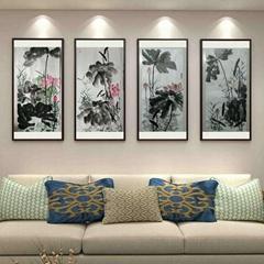Lotus chinese painting