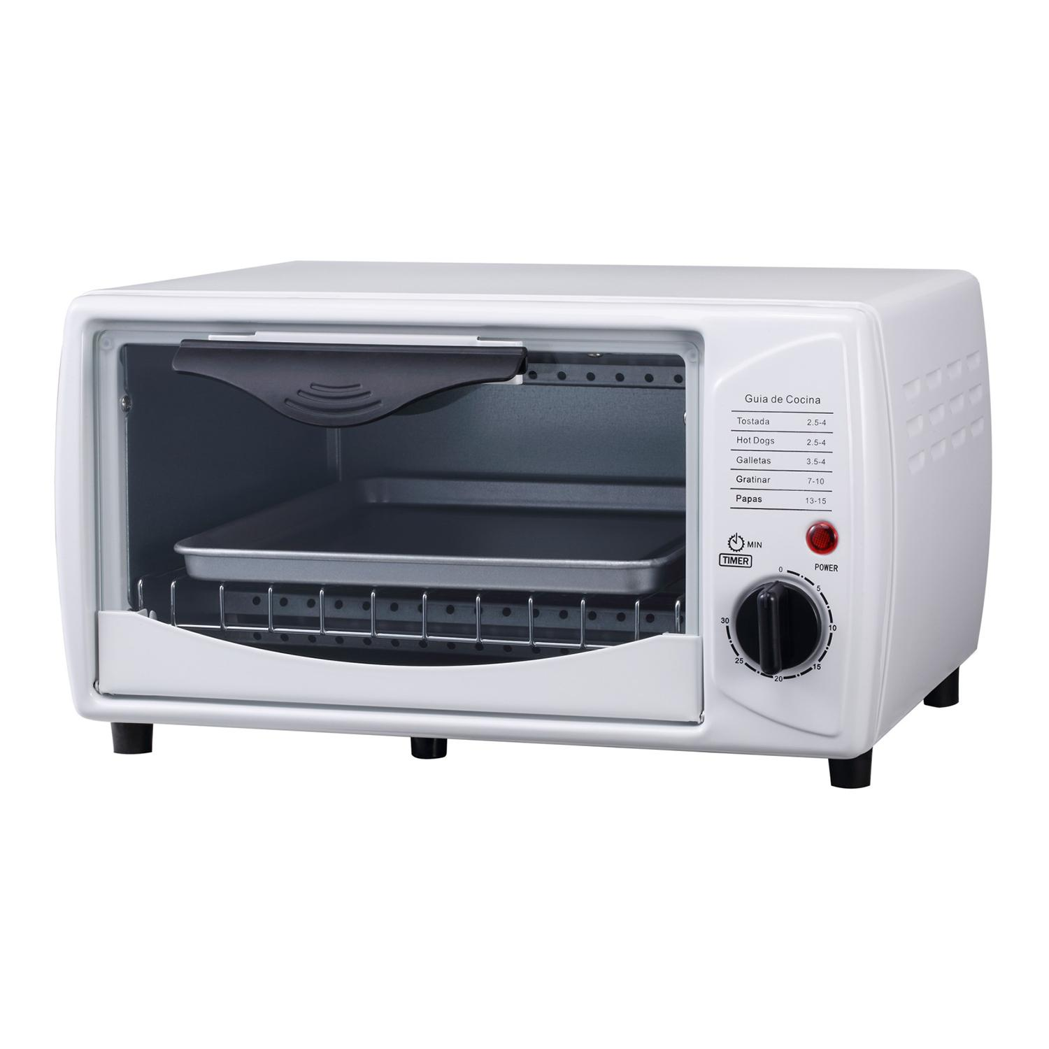 9L white color table top mini portable electric oven for making toast  1