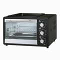 20L Home Kitchen Appliance Electric Oven With Grill Function 1