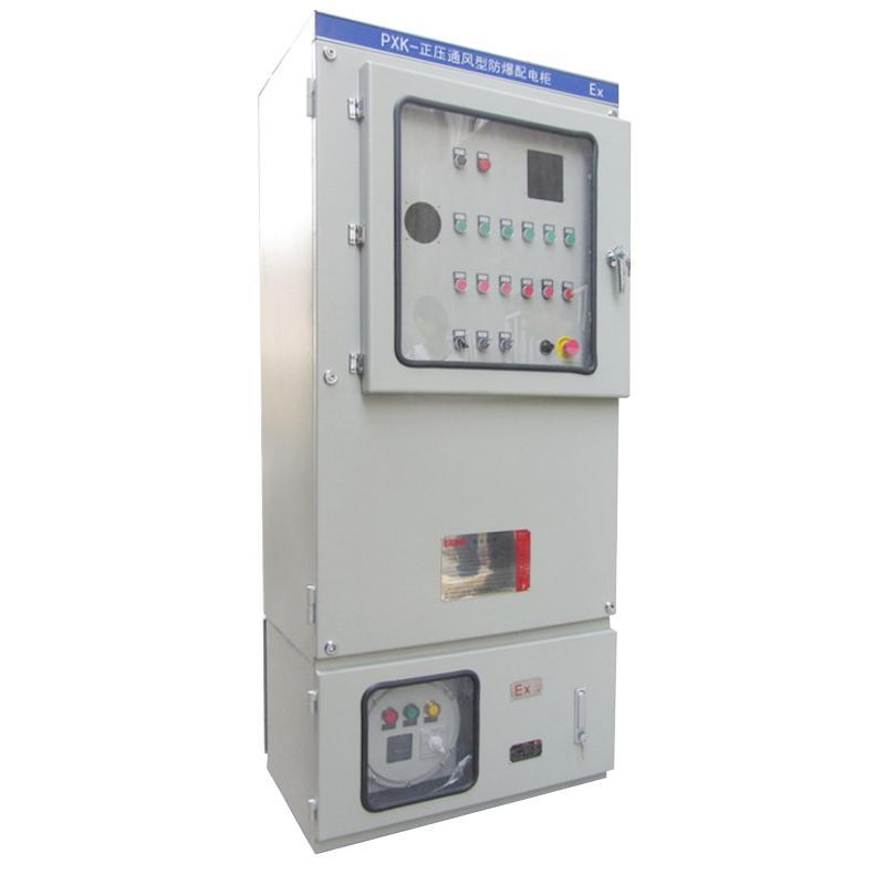 安勝專業定製PLC控制正壓通風型控制櫃 1