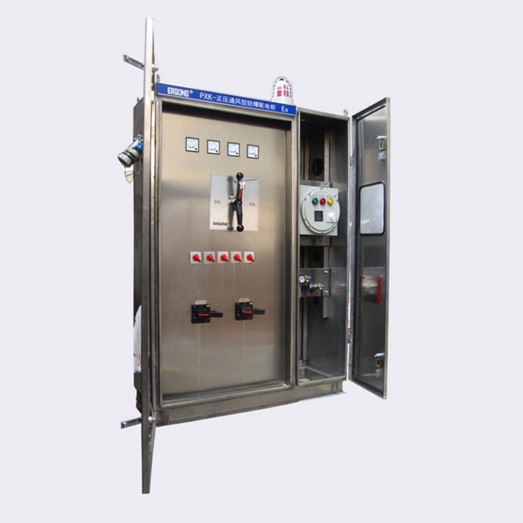 力盾專業定製PLC控制正壓通風型控制櫃 2