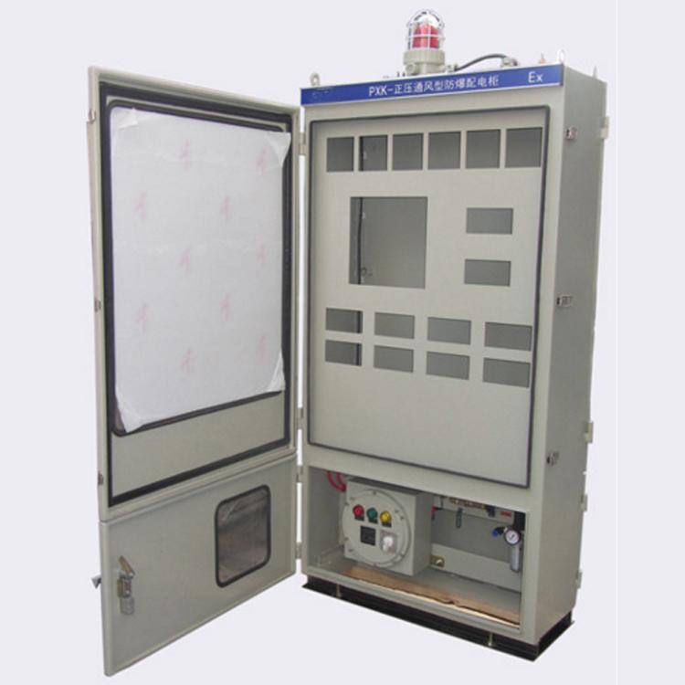 安勝專業定製PLC控制正壓通風型控制櫃 4