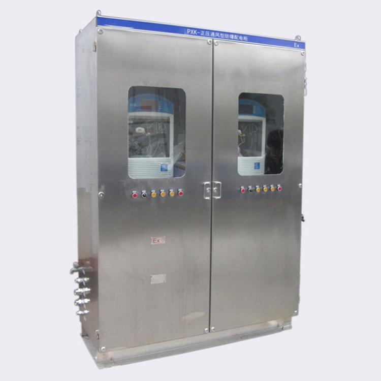 安勝專業定製PLC控制正壓通風型控制櫃 5