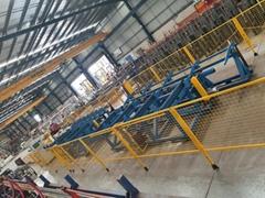 Rebar coupler friction welding machine