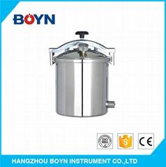 便携式电动或液化石油气热压压力蒸汽灭菌器