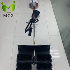 Gasoline Broom Power Sweeper machine for artificial grass