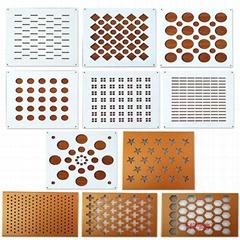 华高建材氟碳穿孔铝单板产品