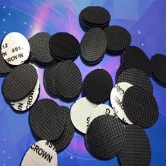 自粘橡胶家具 防滑EVA垫片 缓冲密封橡胶垫 密封黑色橡胶垫