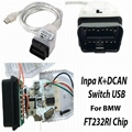 OBD2 Inpa K D CAN Diagnostic scan Tool with Switch USB Interface Cable for Bmw 2