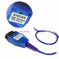 OBD2 Inpa K D CAN Diagnostic scan Tool with Switch USB Interface Cable for Bmw 4