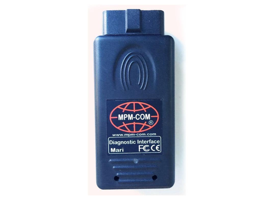 Maxiecu 2 + mpm-com-suitcase diagnosis mercedes benz star c3 c4 diag obd2 3