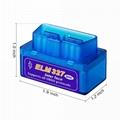 Bluetooth Mini ELM327 OBD2 II Auto Car OBD2 Diagnostic Interface Scanner Tool 3