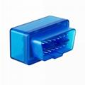 Bluetooth Mini ELM327 OBD2 II Auto Car OBD2 Diagnostic Interface Scanner Tool 4
