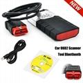 Bluetooth ALL CAR TRUCK UNIVERSAL FAULT CODE READER DIAGNOSTIC SCANNER TOOL OBD2