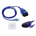 VAG KKL 409.1 OBD2 K-Line KWP2000 ISO9141 USB FOR Diagnostic Tool 2
