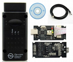 Opcom 2014.02 Can OBD2 for Opel Firmware V1.99 with PIC18F458 Chip and FTDI