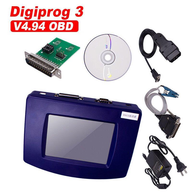 Digiprog3 V4.94 Master Pro-grammer Car Speedometer Tool Full Set Multi-languages 3