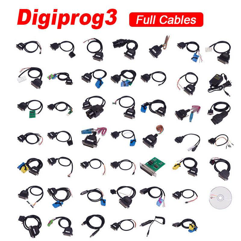 Digiprog3 V4.94 Master Pro-grammer Car Speedometer Tool Full Set Multi-languages 4