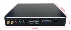 HD4003  黑色經典款小電腦