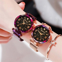 Luxury Magnetic Starry Sky Women Watches relogio feminino Female Clock Quartz Wr