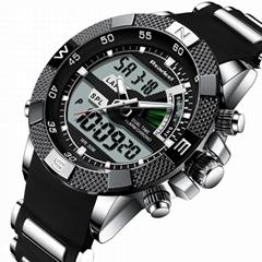 Brand New Luxury Led Quartz Men Watch Digital Army Military Men Sport Watches Cl