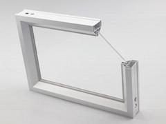 Alu Frame Cleanroom Combined Windows