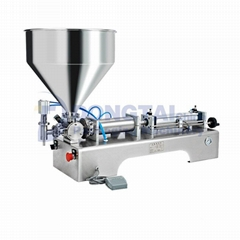 Semi automatic chilli   hot  tomato  chili sauce filling machine for paste