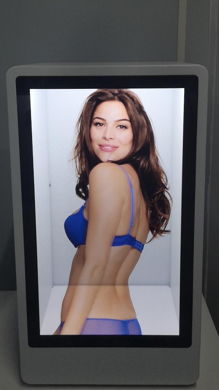 18.5寸透明液晶展示櫃 3