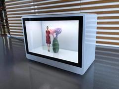 21.5寸透明液晶展示櫃