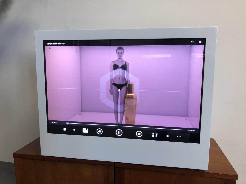 東莞市惠華電子廠家直銷22寸透明液晶展示櫃 2
