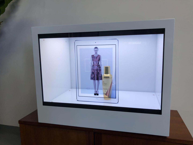 東莞市惠華電子廠家直銷22寸透明液晶展示櫃 4
