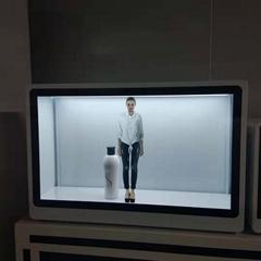 東莞市惠華電子廠家直銷32寸透明液晶展示櫃
