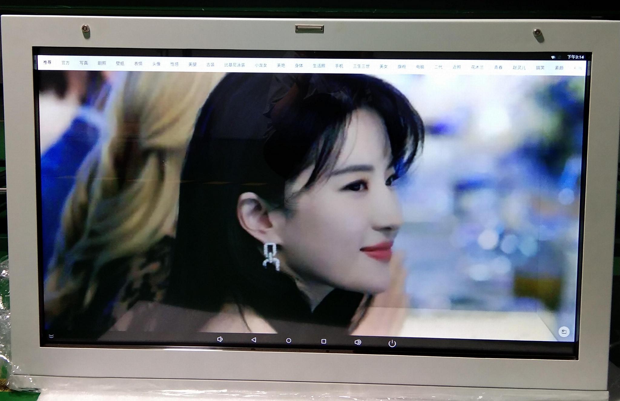 東莞市惠華電子廠家直銷49寸透明液晶展示櫃 1