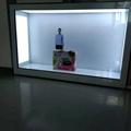 東莞市惠華電子廠家直銷55寸透明液晶展示櫃 2