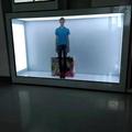 東莞市惠華電子廠家直銷55寸透明液晶展示櫃 3