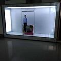 東莞市惠華電子廠家直銷55寸透明液晶展示櫃 4
