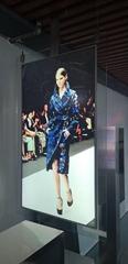 東莞市惠華電子廠家直銷55寸雙面超薄液晶顯示廣告標牌