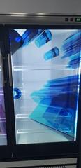 東莞市惠華電子廠家直銷55寸透明液晶顯示單開冰箱