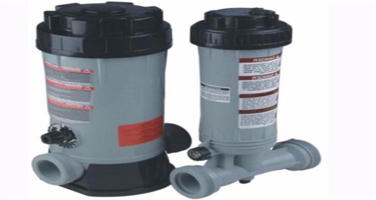 automatic swimming pool feeder chlorinator 1