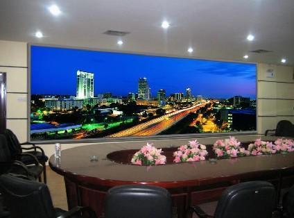 汕頭室內P3LED顯示屏LED顯示屏維修製作 1