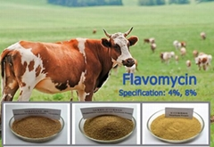 Promoting Growth Flavomycin 4% & 8% & 12% Flavomycin Premix for Poultry Medicine