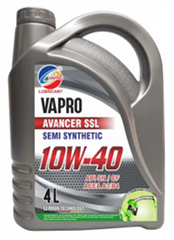 vapro威保10W-40半合成油潤滑油汽車機油