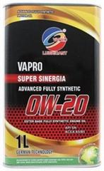 vapro威保金屬罐0W-20全合成酯油汽車機油