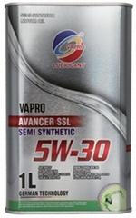 vapro威保潤滑油金屬罐5W-30半合成汽車機油