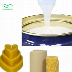 Candle mold making liquid silicone rubber with good hardness